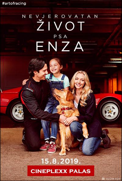 Nevjerovatan život psa Enza (2019)