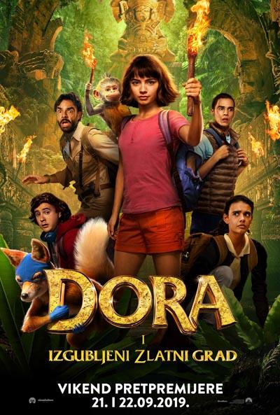 Dora i izgubljeni zlatni grad (2019)