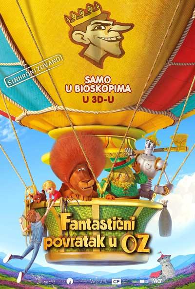 Fantastični povratak u Oz 3D sinh (2020)